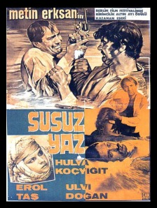 Susuz Yaz film poster from the 14th Berlin Film Festival
