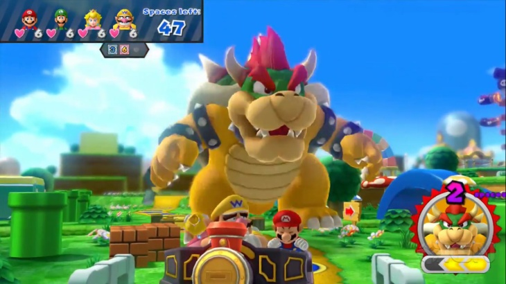 Watch out for Bowser - he's a total asshole