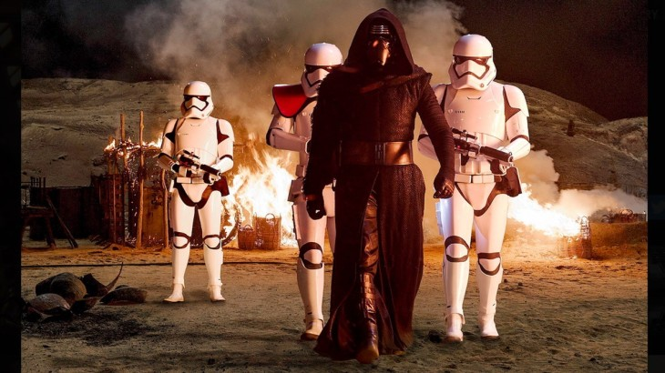 Kylo Ren looks pretty badass in everything we've seen so far.